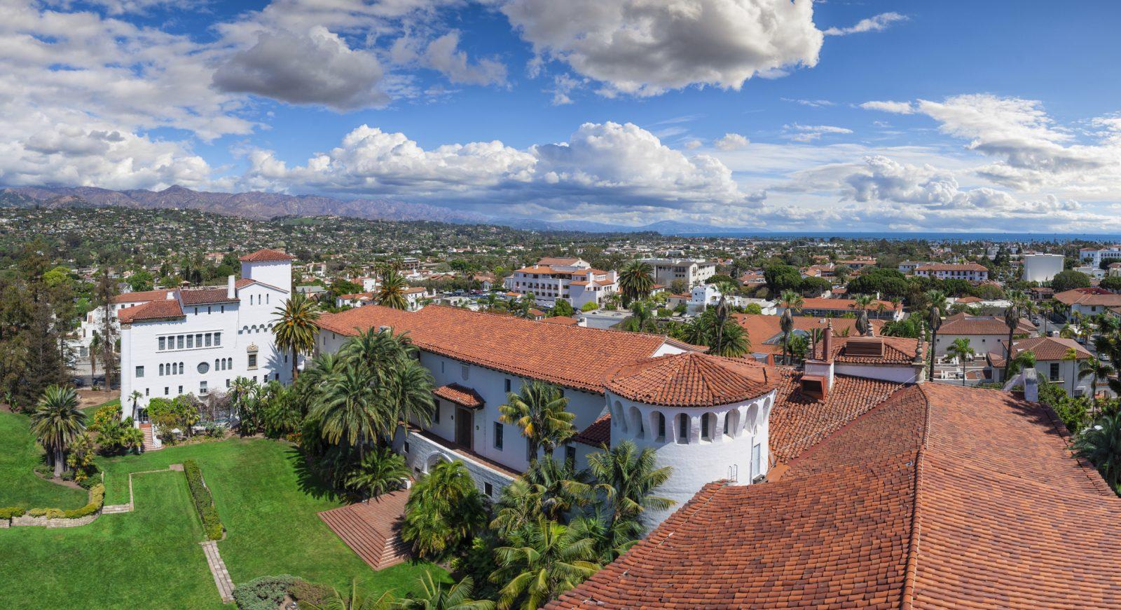 A vista of Santa Barbara