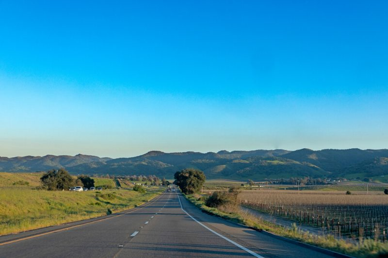 image of santa maria road