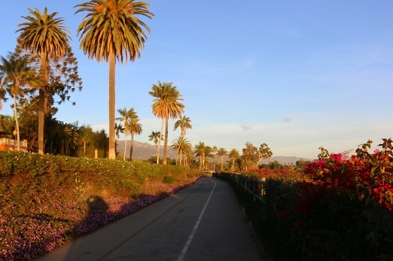 road in montecito